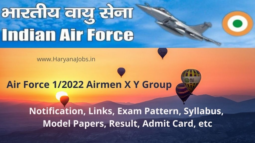Indian Air Force X, Y Group