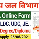 NWDA Various Post Online Form 2021