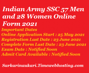 indian army ssc